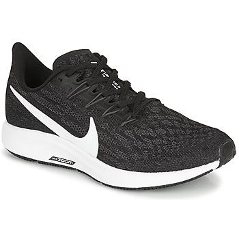 Zapatos Mujer Running / trail Nike ZOOM PEGASUS 36 Negro / Blanco