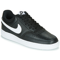 Zapatos Mujer Zapatillas bajas Nike COURT VISION LOW Negro / Blanco