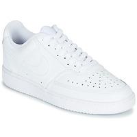 Zapatos Mujer Zapatillas bajas Nike COURT VISION LOW Blanco