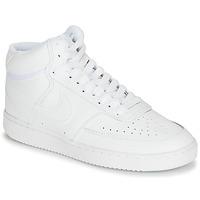 Zapatos Mujer Zapatillas altas Nike COURT VISION MID Blanco