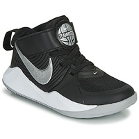 Zapatos Niños Multideporte Nike TEAM HUSTLE D 9 PS Negro / Plata