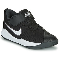 Zapatos Niños Multideporte Nike TEAM HUSTLE QUICK 2 PS Negro / Blanco