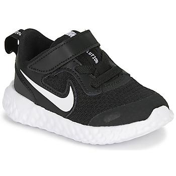 Zapatos Niños Multideporte Nike REVOLUTION 5 TD Negro / Blanco