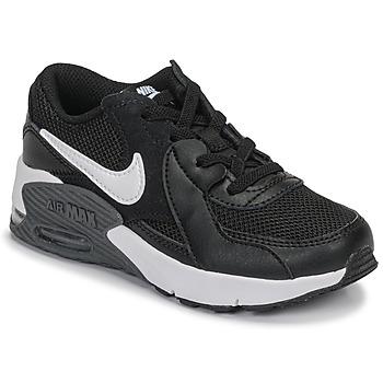 Zapatos Niños Zapatillas bajas Nike AIR MAX EXCEE PS Negro / Blanco