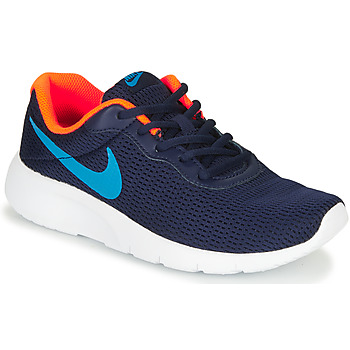 Zapatos Niño Zapatillas bajas Nike TANJUN GS Azul