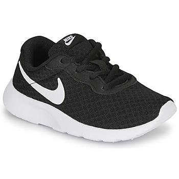 Zapatos Niños Zapatillas bajas Nike TANJUN PS Negro / Blanco