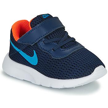 Zapatos Niño Zapatillas bajas Nike TANJUN TD Azul