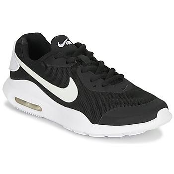 Zapatos Niños Zapatillas bajas Nike AIR MAX OKETO GS Negro / Blanco