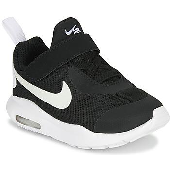 Zapatos Niños Zapatillas bajas Nike AIR MAX OKETO TD Negro / Blanco