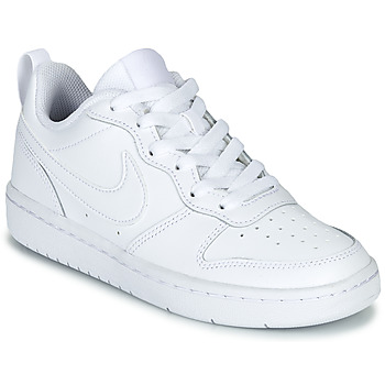 Zapatos Niños Zapatillas bajas Nike COURT BOROUGH LOW 2 GS Blanco