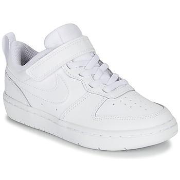 Zapatos Niños Zapatillas bajas Nike COURT BOROUGH LOW 2 PS Blanco