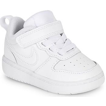Zapatos Niños Zapatillas bajas Nike COURT BOROUGH LOW 2 TD Blanco