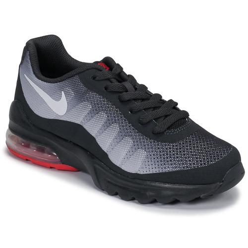 Zapatos Niños Zapatillas bajas Nike AIR MAX INVIGOR GS Negro / Rojo