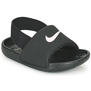 Zapatos Niños Sandalias Nike KAWA TD Negro