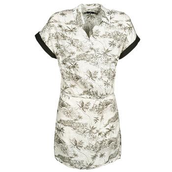 textil Mujer Vestidos cortos Volcom VACAY ME SS DRESS Blanco