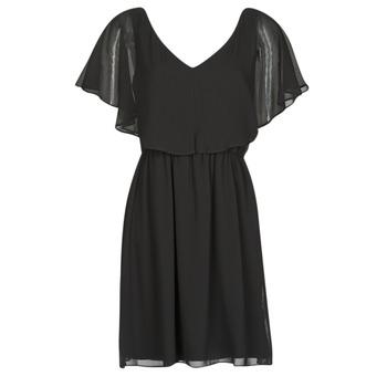 textil Mujer vestidos cortos Naf Naf LAZALE Negro