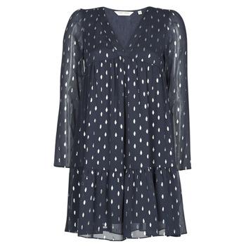 textil Mujer vestidos cortos Naf Naf FOIL Marino