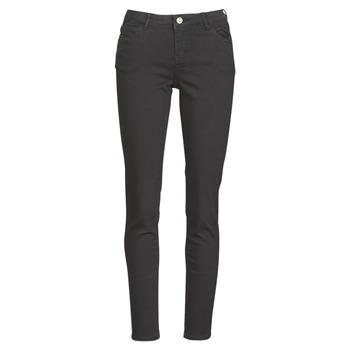 textil Mujer pantalones con 5 bolsillos Morgan PETRA Negro
