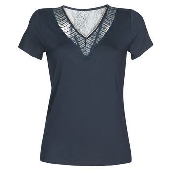 textil Mujer camisetas manga corta Morgan DOHAN Marino