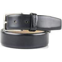 Accesorios textil Hombre Cinturones Café Noir CN-UC-MCF101-blk NERO