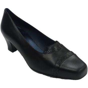 Zapatos Mujer Mocasín Trebede Zapato mujer serpiente negro