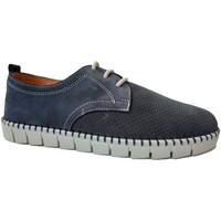 Zapatos Hombre Derbie Primocx Zapato cordones hombre ancho especial có azul
