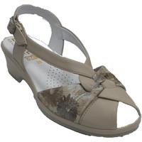 Zapatos Mujer Sandalias Made In Spain 1940 Sandalias descanso mujer tonos beigs muy beige