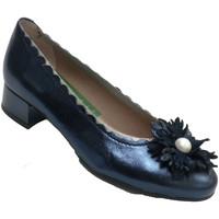 Zapatos Mujer Zapatos de tacón Pitillosms Manoletinas mujero adorno moña azul