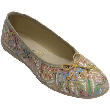 Zapatos Mujer Pantuflas Made In Spain 1940 Zapatillas mujer tipo manoletinas con la beige