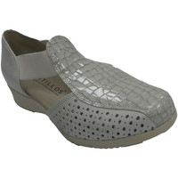 Zapatos Mujer Sandalias Pitillosms Sandalia mujer cerrada talón y puntera gris