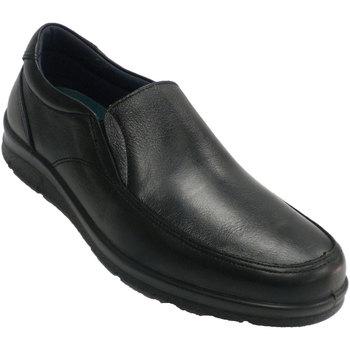 Zapatos Hombre Mocasín Pitillos Zapato hombre invierno gomas a los lados negro