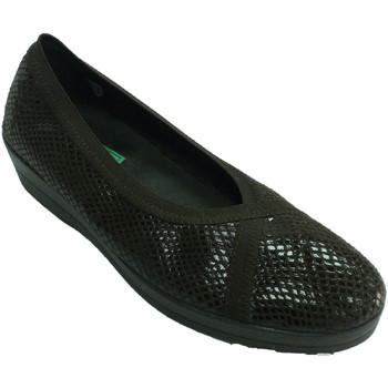 Zapatos Mujer Mocasín Made In Spain 1940 Zapatillas estar casa mujer invierno sim marrón