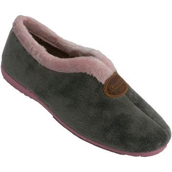 Zapatos Mujer Pantuflas Calzacomodo Zapatilla mujer cerrada abertura empeine gris