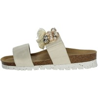 Zapatos Mujer Zuecos (Mules) Riposella 19264 zapatillas Mujer Beige Beige
