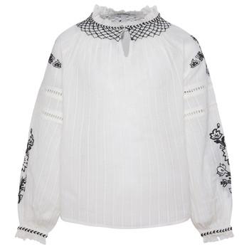 textil Niña Tops / Blusas Pepe jeans RONIE Blanco