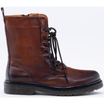 Zapatos Mujer Botines Iber B-1560A Marrón
