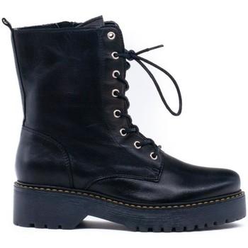 Zapatos Mujer Botines Iber B-2139 Negro