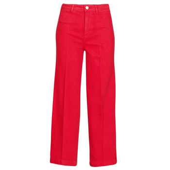 textil Mujer Vaqueros bootcut Tommy Hilfiger BELL BOTTOM HW CCLR Rojo