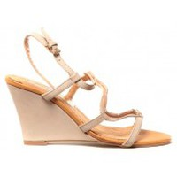 Zapatos Mujer Sandalias Cassis Côte d'Azur Chaussures Alefe Taupe Marrón