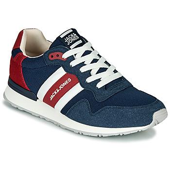Zapatos Hombre Zapatillas bajas Jack & Jones STELLAR MECH Marino / Rojo