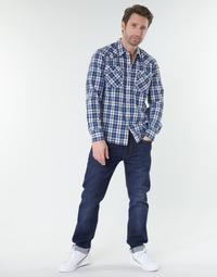 textil Hombre Vaqueros rectos Levi's 502™ TAPER Biologia / Adv