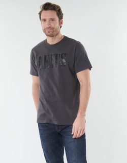 textil Hombre Camisetas manga corta Levi's RELAXED GRAPHIC TEE Gris