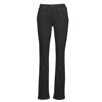 textil Mujer Vaqueros bootcut Levi's 725 HIGH RISE BOOTCUT Negro / Oveja