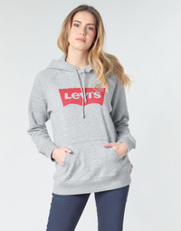 textil Mujer sudaderas Levi's GRAPHIC SPORT HOODIE Gris / China