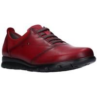 Zapatos Mujer Derbie Fluchos F0354 Mujer Burdeos rouge