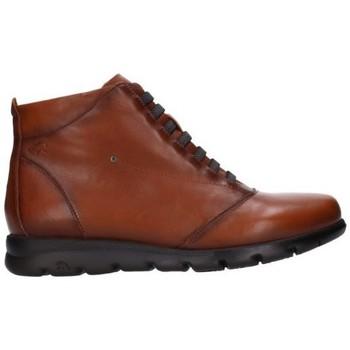 Zapatos Mujer Botas de caña baja Fluchos F0356 Mujer Cuero marron
