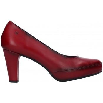 Zapatos Mujer Zapatos de tacón Fluchos D5794 Mujer Burdeos rouge