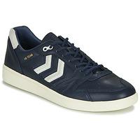 Zapatos Hombre Zapatillas bajas Hummel HB TEAM CREST Azul