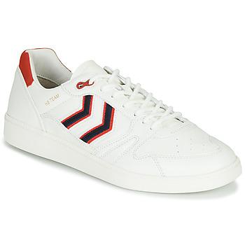 Zapatos Hombre Zapatillas bajas Hummel HB TEAM CREST Blanco