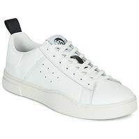 Zapatos Hombre Zapatillas bajas Diesel S-CLEVER LOW Blanco